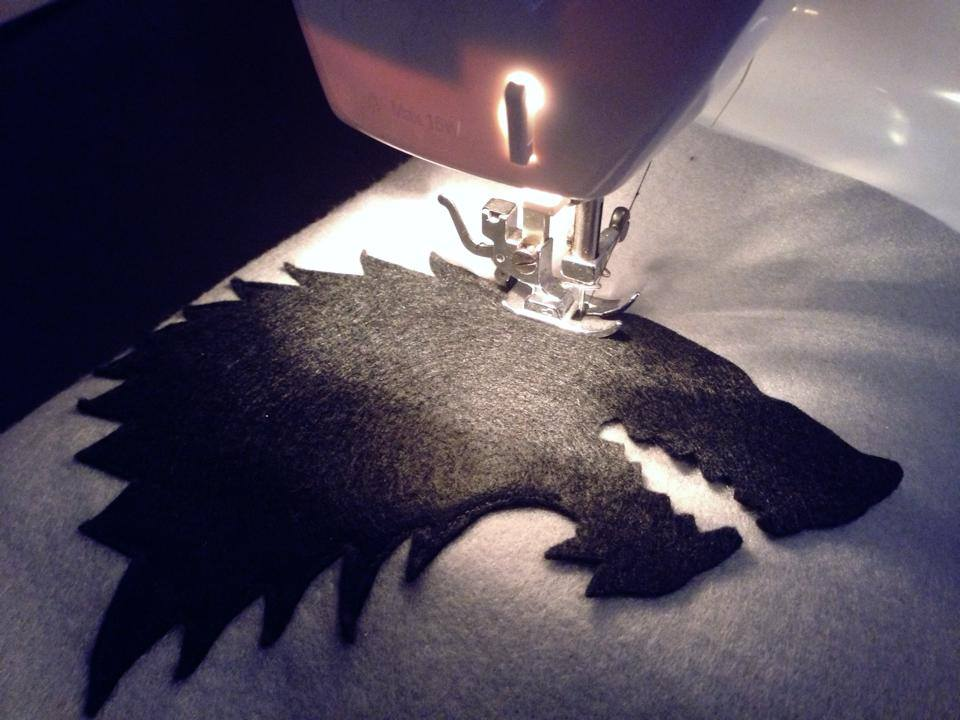 Game of Thrones House Stark Cushion